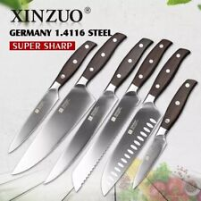 6 pcs kitchen knives