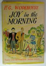 JOY IN THE MORNING P G WODEHOUSE 1946 DOUBLEDAY FIRST ED DJ BERTIE AND JEEVES