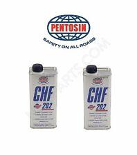 2- Bottles Power Steering Fluid /Hydraulic Pump Fluid Pentosin CHF202