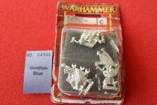 Games Workshop Warhammer Orcs and Goblins Grot Night Goblin Netters Metal OOP GW