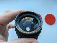 1986 Soviet Black Mir-1 V 37mm f/2.8mm M42 Russian SLR lens