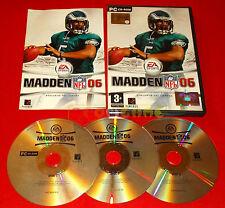 MADDEN NFL 06 Pc Versione Ufficiale Italiana ○ COMPLETO - E4