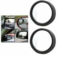 2pcs Blind Spot Rear View Rearview Mirror for Car Truck Wide Angle Convex