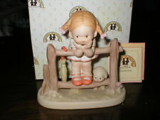 LUCIE ATTWELL ENESCO FIGURE WHAT WILL I GROW UP TO BE 114537 DATED 1987 BOXED
