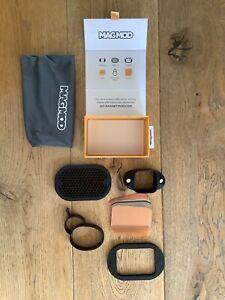 MagMod Basic Set. MagGrid. Gels. Universal Flashgun Modifier UK