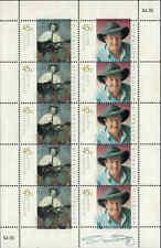 2001 AUSTRALIA Australian Legends Slim Dusty Shtl of 10