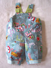 Baby-Latzhosen für Jungen aus Baumwollmischung mit Motiv