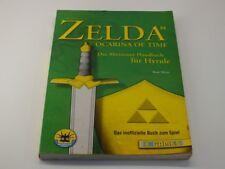 !!! NINTENDO N64 Zelda Abenteuer Handbuch X Games, gebraucht aber GUT !!!