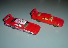 Hot Wheels 2 Lot Dodge Charger Daytona 1/64th Scale Loose