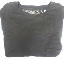 Tasso Elba Island Gray Cotton Crew-Neck Short Sleeve T-Shirt 3XB Big & Tall