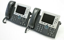 Lot of 6 Cisco 7965 CP-7965G 6-Line Unified IP VoIP Color Display Business Phone