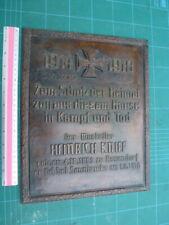 More details for  ww1 era house plaque  ,          1916