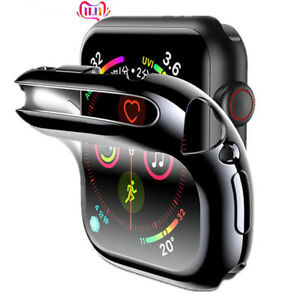 iWatch screen protector Accessories silicone bumper for apple watch 6 5 4 3 2 1