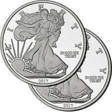 2017 Silver American Eagle Medallion by SilverTowne- 5oz .999 Silver (2pc)