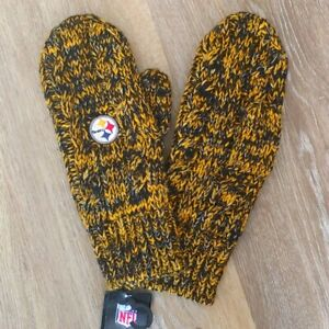 NWT NFL Pittsburgh Steelers Women's Mittens