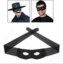 Black Masquerade mask,Highway man,Dick Turpin,Zorro,Fancy dress,parties