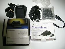 Omnidirectional Boundary Microphone lot of 2 [33-3022] Complete Fast Shipping