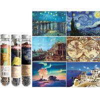 150Pieces Multi-type Landscape Puzzle Game Test Tube Packaging Adults Puzzle N_N