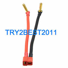 T Plug Deans female to 4mm Low Profile Bullet Banana Cable Wire for lipo Battery
