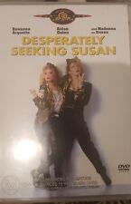 DESPERATELY SEEKING SUSAN RARE DELETED DVD FILM ROSANNA ARQUETTE & MADONNA MOVIE