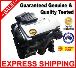 Holden XC Barina Engine / Motor 1.4 L 4Cyl Petrol Z14XE X14XE CD - Express