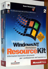 MICROSOFT WINDOWS NT WORKSTATION RESOURCE KIT PARTE 2