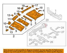 KIA OEM 17-18 Niro REAR BODY-Floor Pan Assembly 65510G5300