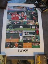 Ayrton Senna / HUGO BOSS / SPORTS STARS POSTER   24 by 36 inches  {Mclaren}