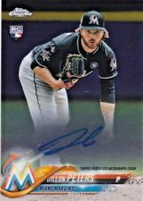 Dillon Peters Miami Marlins 2018 Topps Chrome Rookie Autographs # AUTO RC