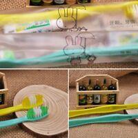 10X Zahnbürste 10 Zahnpasta Einwegverpackung für den Einmalgebrauch-Neu