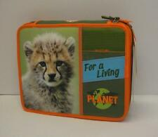 WWF astuccio scuola maxi per bambino 2 cerniere-CON PENNA FRIXION CANCELLABILE