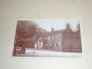 EARLY  1911 REAL PHOTO PC - THE MALSTERS INN, RANWORTH, NORFOLK BROADS, NORFOLK