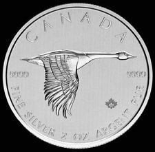 2020 2 oz Silver .999 Fine Canada $10 Dollar Flying Goose Coin BU+