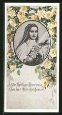 Heiligenbild Die heilige Theresia