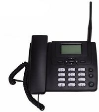 Gsm Desk Landline Telephone With Fm Radio 900/1800Mhz Fixed Wireless Telephone