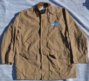 Disneyland Resorts Cast Member CAMEL Canvas Coat Jacket Employee Embroidered