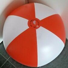Seltener großer rot / weißer WASSERBALL, 70cm / 28