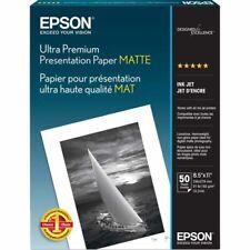 Epson Matte 8.5x11 Premium Presentation Photo Paper - 50 Sheets
