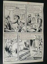 Jolie Planche originale Documents à vendre OSS 117 Aredit 1970 pl 96