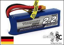 1x Turnigy 2200mAh 3S 25C - 35C Lipo-Pack 11,1V Lipo Akku Li-Po 3S max 35C :)