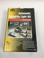 BELL OUTDOOR AUTOMATIC SECURITY LIGHT KIT  GRAY 5883-5