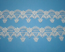 1yard Exquisite Off White Venise/Venice Lace Trim Crafts/Sewing Width 7cm