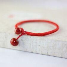 Ribbons Women Red Fashion Bead Bangle String Bracelets Ceramic