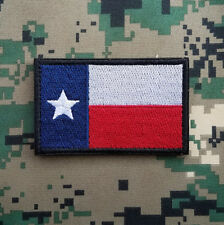 USA Texas TX STATE FLAG U.S. ARMY MORALE TACTICAL PATCHES EMBROIDERED PATCH *11