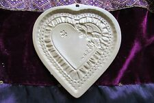 "Brown Bag Cookie Chocolate Heart Strawberry Bee 1990 Mold Sz 5.75"" x 5.75"" RARE"