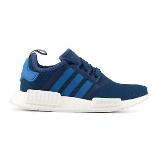 Mens Adidas NMD R1 trainers Blue White  UK size 7