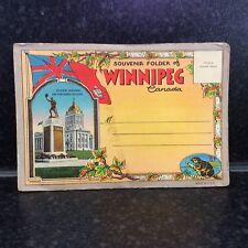 477. Winnipeg Canada - 18 Colour Postcard Set