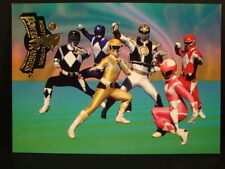 """Power Rangers,1994-Series-3 Chase Card /""""Retail/"""" WR-7 /""""Strong And Fearless/"""""""