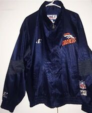 VIntage 90's NFL Denver Broncos Pro Line Jacket Logo Athletic Windbreaker Sz XL