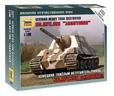 "Zvezda 1/100 Sd.Kfz.186 ""Jagdtiger"" German Heavy Tank Destroyer # 6206"